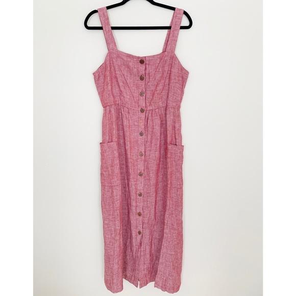 Rachel Zoe Dresses & Skirts - Red Rachel Zoe Linen Dress